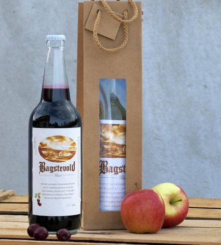 Gavepose 1stk eple kirsebær